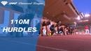 Sergey Shubenkov 13.07 Wins Men's 110m Hurdles - IAAF Diamond League Monaco 2018
