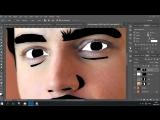 Как сделать в фотошопе мультяшное лицо из фотографии _ Уроки по Фотошопу