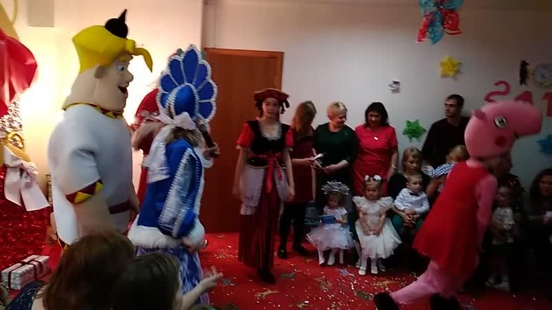 новогодний праздник в ЦРР Эйнштейн «Как Алёша Попович новогоднее чудо искал» 🎄❄️☃️