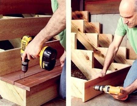Делаем своими руками для дома из дерева
