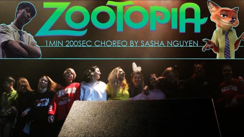 1min 200sec - Zootopia (choreography by Sasha Nguyen) - Idolcon autumn 2018