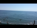 А из нашего окна, солнце, море и волна. А из вашего окошка?))
