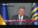 Putin refuses to talk to me, Ukraines Poroshenko tells FRANCE 24
