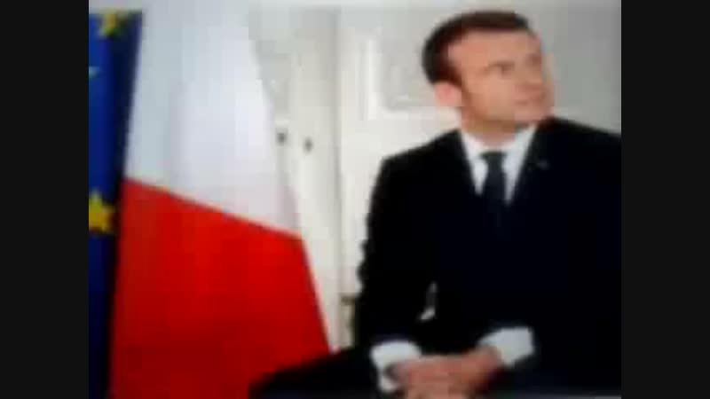 Initia . Macron n est pas le grand Monarc