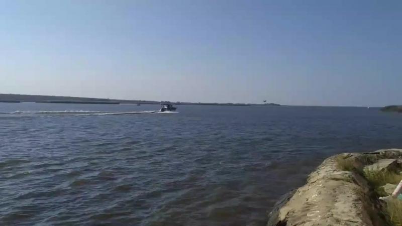 Гидросамолёт над Крохино