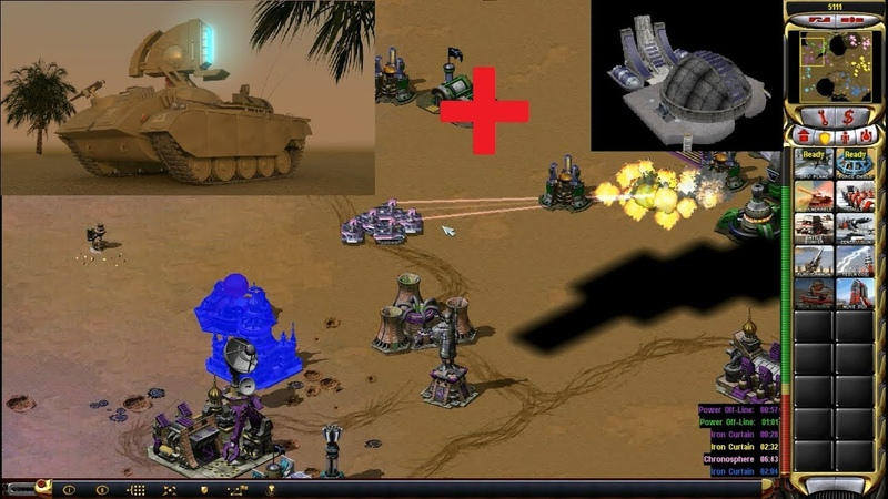 Red Alert 2 Yuri's Revenge - [ET] vs Pros - 3 vs 3 Pro Match on the map Tour of Egypt