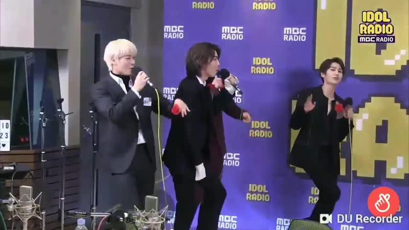 181123 SF9 Hwiyoung, ASTRO Moonbin and THE BOYZ Younghoon singing Fantastic Baby on Idol radio! -