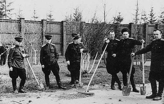 Охрана и прислуга Сталина