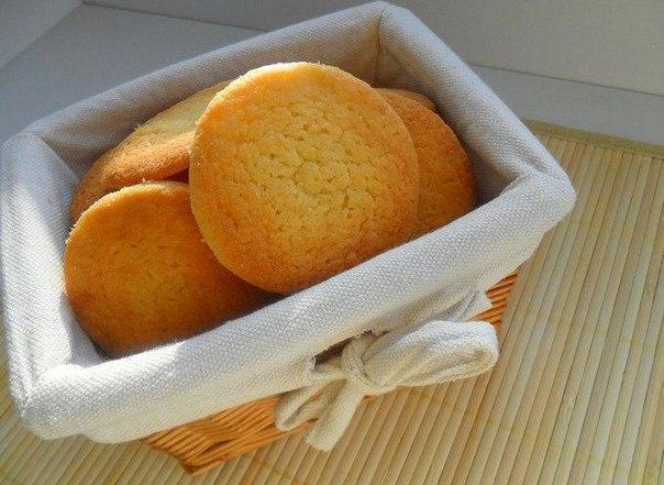 Нежное песочное печенье
