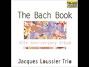 Jacques Loussier Trio Concerto In D Major For Harpsichord, BMV 1054 - III. Allegro