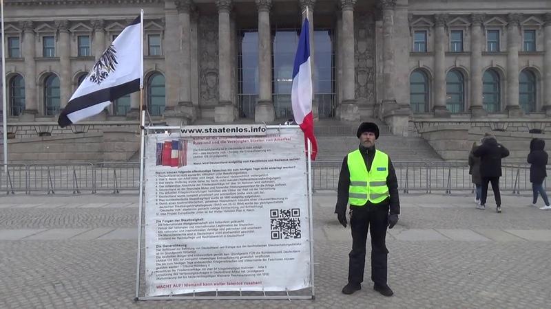 Gilets Jaunes Gelbwesten Aufruf! ALLE auf zum Reichstag nach Berlin am 23. Februar 2019 - 11 Uhr