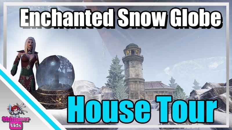 ESO: Enchanted Snow Globe Home Tour