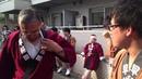 О Микоси божественный паланкин проход по городу во время мацури