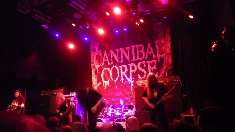Cannibal Corpse - Scavenger Consuming Death LIVE Eindhoven