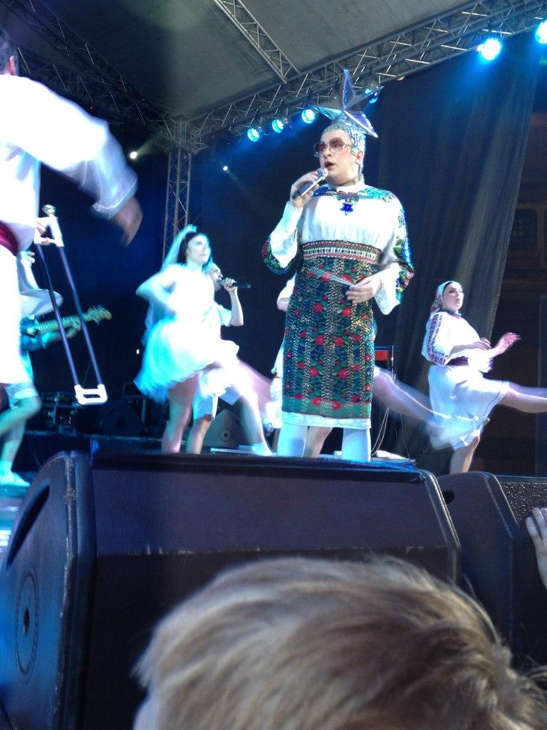 Верка Сердючка концерт в Одессе Ночь распродаж
