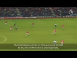When a class Colombian introduced himself to @NUFC in the best way - - PLMoment