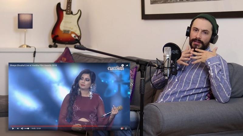 Voice Teacher Reacts - Shreya Ghoshal LIVE at Vanitha Film [Part 2]