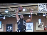 Kevin Durant PUNCHES The Dunk Down The Middle At Drew League!
