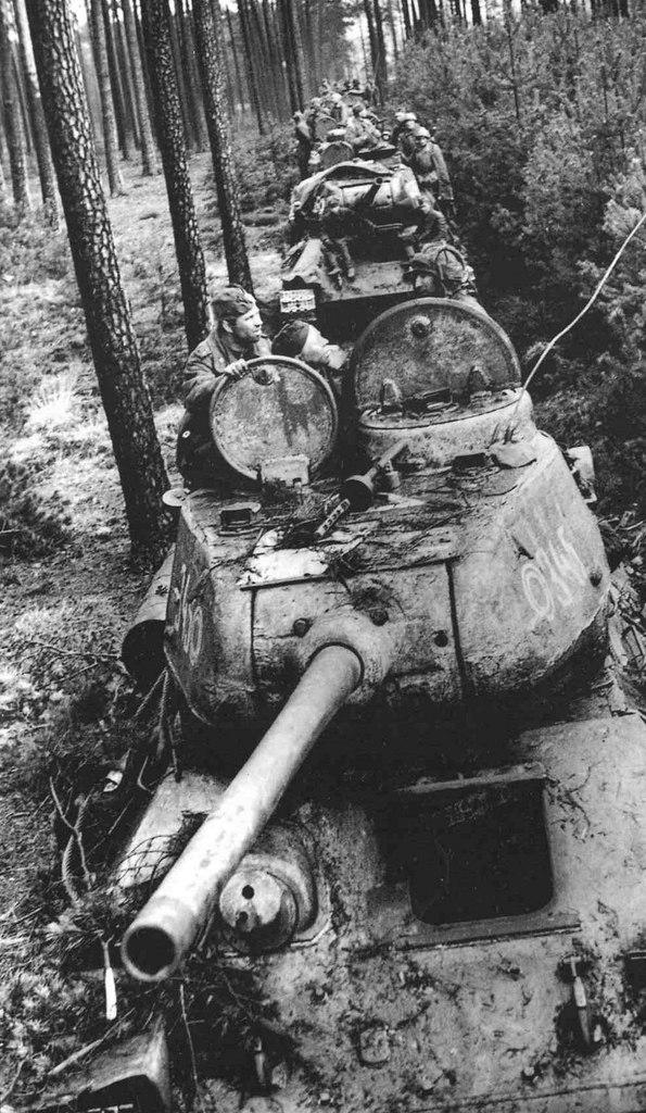 Т-34-85 № 345
