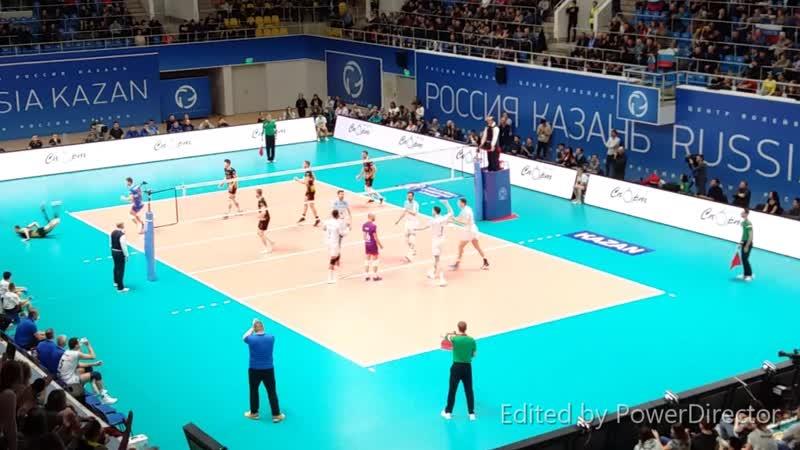Лига чемпионов 2018/2019 Четвертьфинал Зенит Казань vs Трефл Гданьск