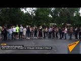 Танцующие под дождем: в Ереване прошел всеармянский флешмоб Ари пари кочари