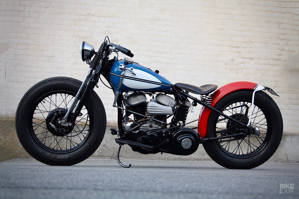 Jamesville Motorcycles: боббер H-D WLA
