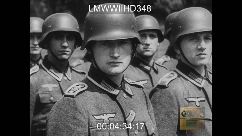 DIE DEUTSCHE WOCHENSCHAU, NO. 33, 1944; REEL 1, PART 1, ON THE AFTERMATH OF THE BOMB P - LMWWIIHD348