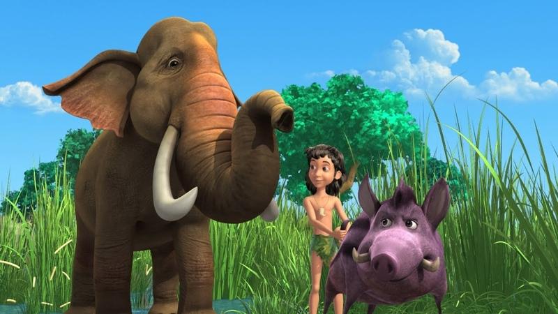 Jungle Book Hindi Cartoon for kids | Jungle| Mogli Cartoon Hindi | Banzai bananas