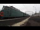 Электровозы ВЛ10-1135 и 2ЭС4к с грузовым