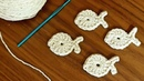 Peixe de Crochê Tutorial de Crochê Fácil Peixinho de Crochê Crochet Fish