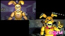 FNaF SFM Revenge Old top vs New bottom
