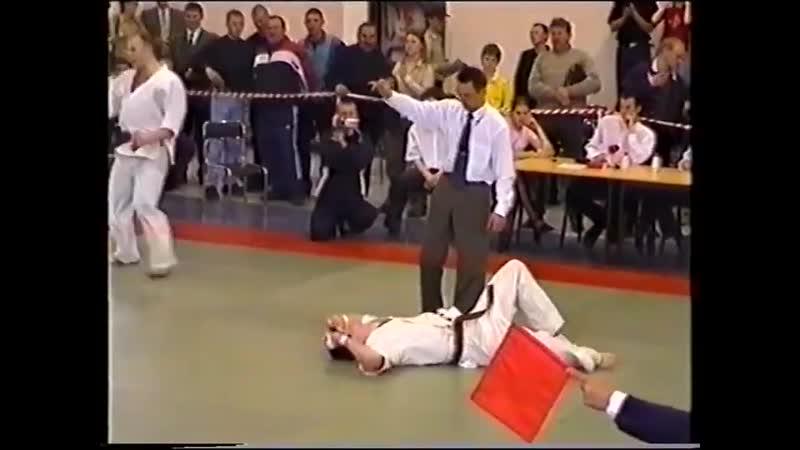 Сергей Михалин на ЧР-2003. 26.04.2003. Самара