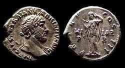 Древнеримские женщины-богини, монеты, Гиларитас