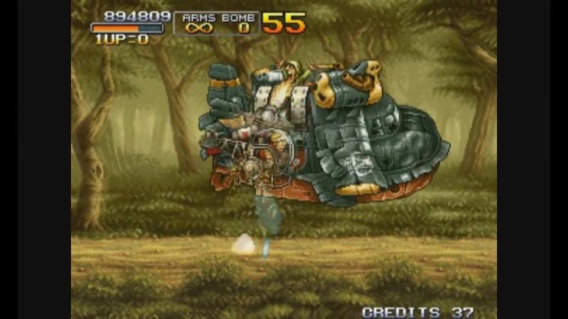Metal Slug 3. Arcade [Прохождение _ Walkthrough]