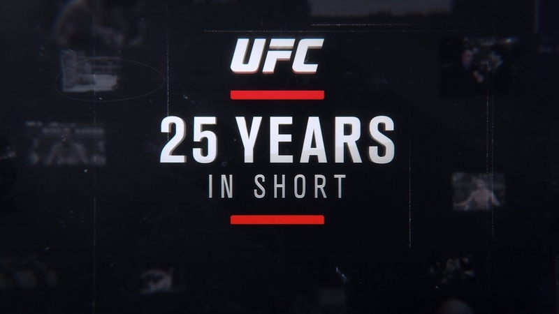 UFC 25 Years in Short – Official Trailer