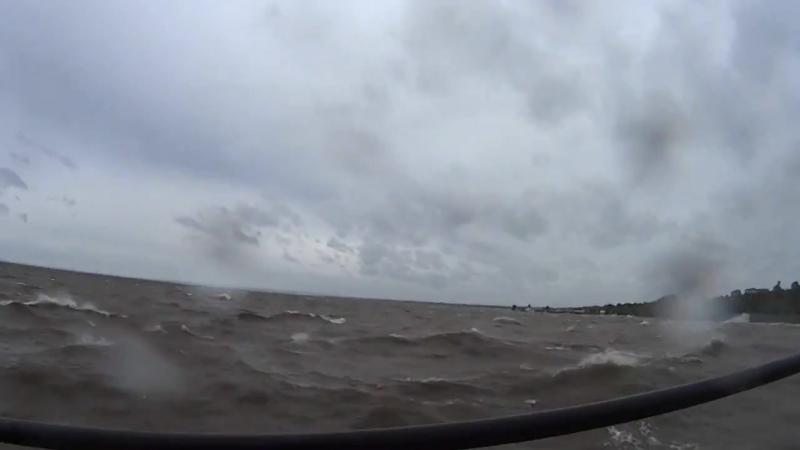 Шторм ураган на Волге Тольятти 06 30 утра 06 июля 2017 г