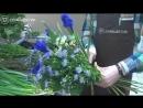 Создание великолепного букета с ирисами