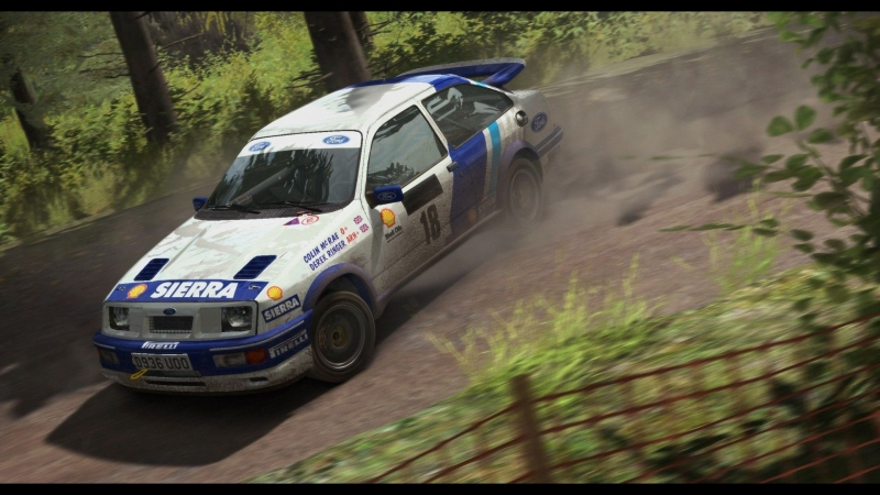 Dirt Rally Ford Sierra Cosworth RS500 ( Colin McRae , Derek Ringer )