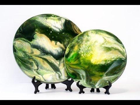 Картины из эпоксидной смолы техника resin art
