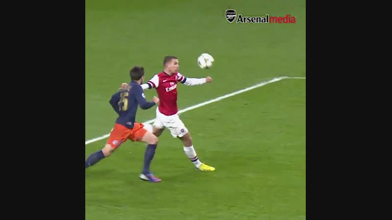 P-P-P-POLDI POWER! - - @Podolski10 unleashes an absolute rocket against Montpellier - - OnThisDay in 2012...