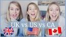 BRITISH VS AMERICAN VS CANADIAN ENGLISH