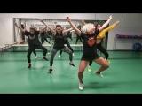 ACTION TEAM fortnite dance challenge / orange justice hype