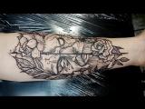 Студия Art Line. Татуировка для Ивана