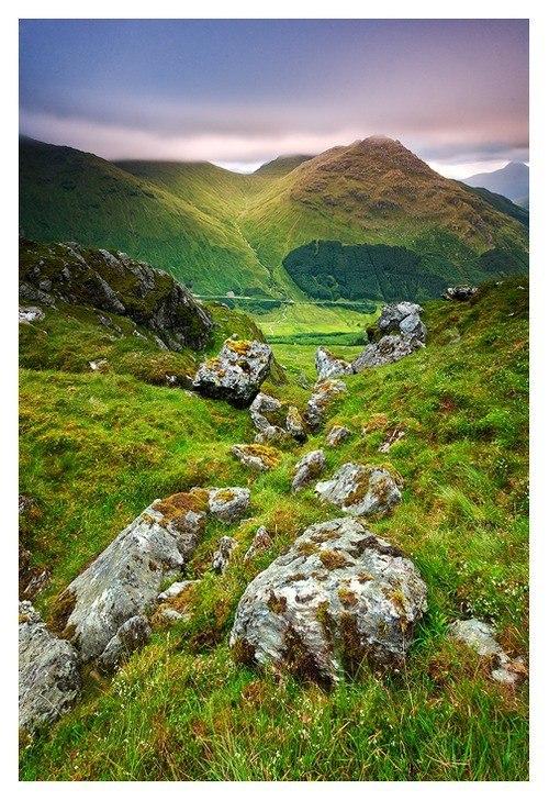 Суровая и прекрасная Шотландия