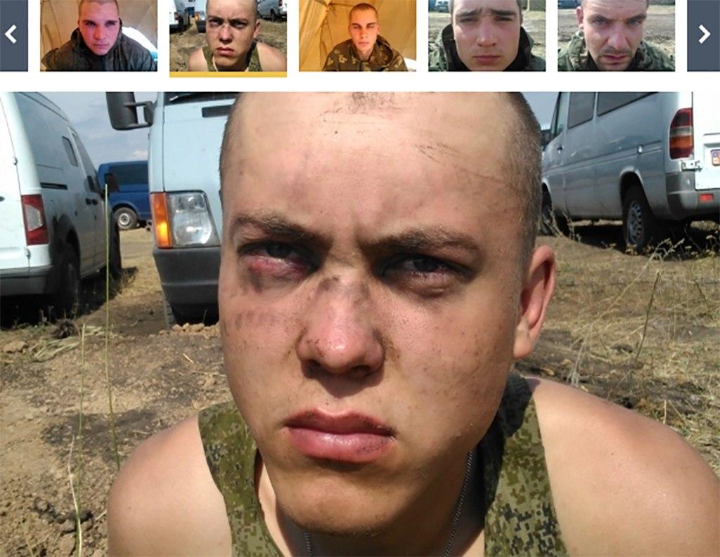 СБУ сообщает о задержании 10 российских десантников