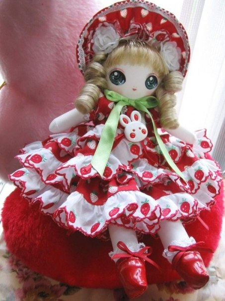 Красивая кукла своими руками  Автор: tanpopo0118