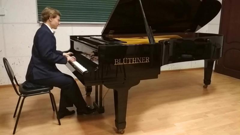 П.И.Чайковский-Раздумье op.72 №5