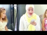 Саида Мухаметзянова и ее братишка Алим поют про Родину