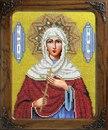 Бисерный набор икона Святая Христина(Кристина) .
