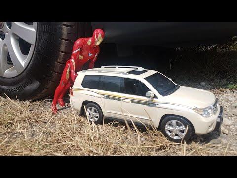 CAR VS IRON MAN JANO TESTS